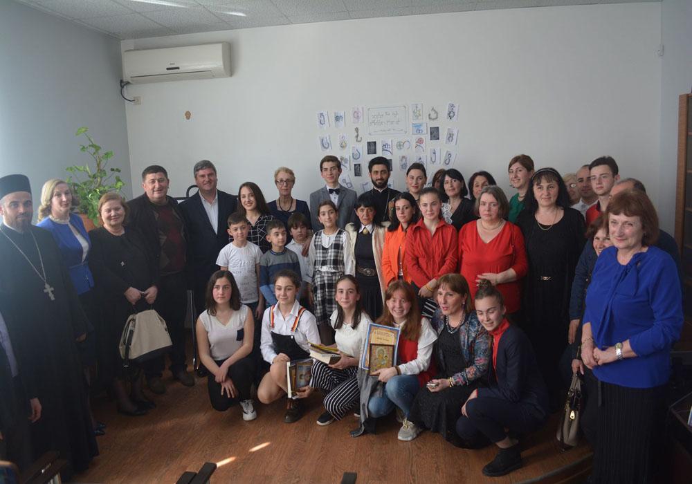 """""""ქართული კალიგრაფია-2019″–დაჯილდოვება"""