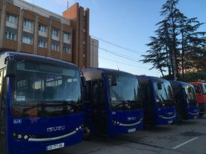 ზუგდიდის ავტოპრაკი 25 ახალი ავტობუსით განახლდება