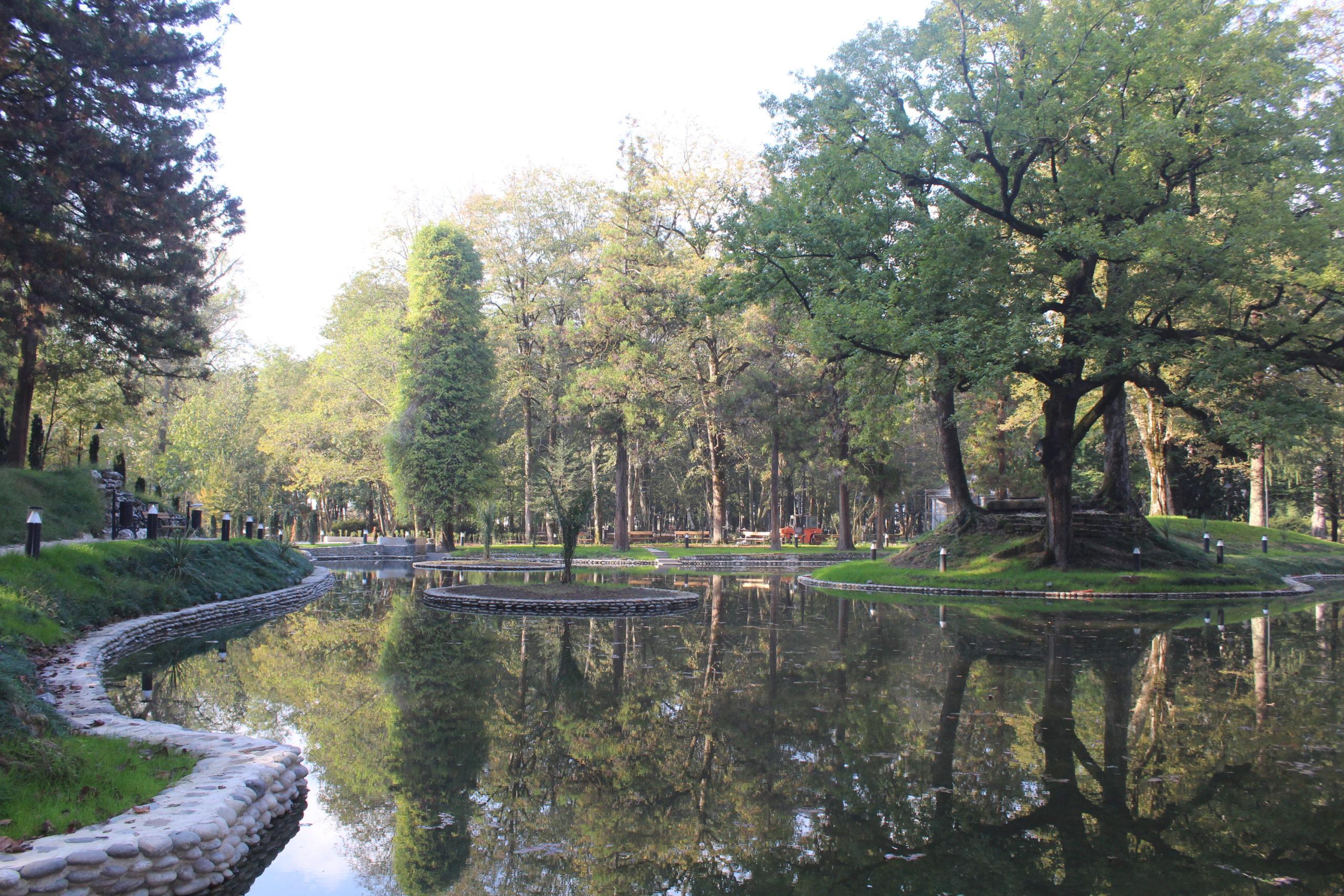 მუნიციპალური განვითარების ფონდი: ზუგდიდის ბოტანიკური ბაღი ნოემბრის მეორე ნახევარში გაიხსნება