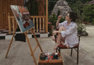 ქეთი ჩახაია კი არ გაჰყვება მხატვრობას, მხატვრობა გაჰყვება ქეთი ჩახაიას